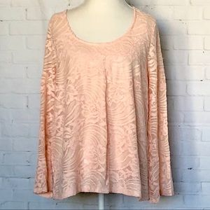 American Rag Cie Lace Manhattan Top 1X
